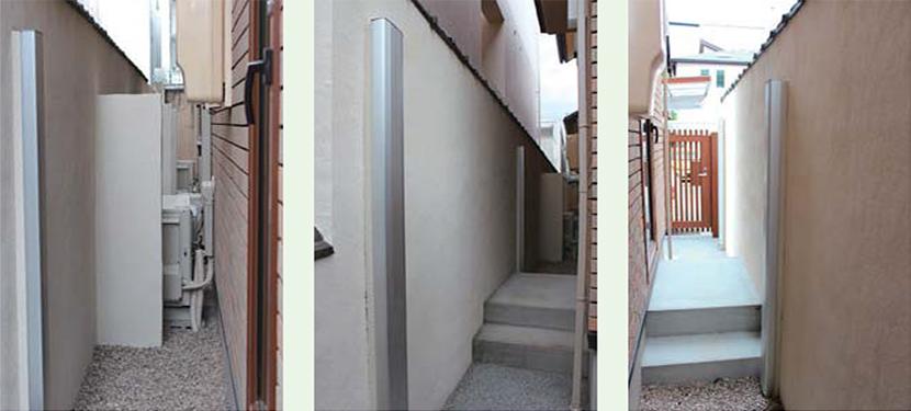 新築に伴う隣地塀の対応