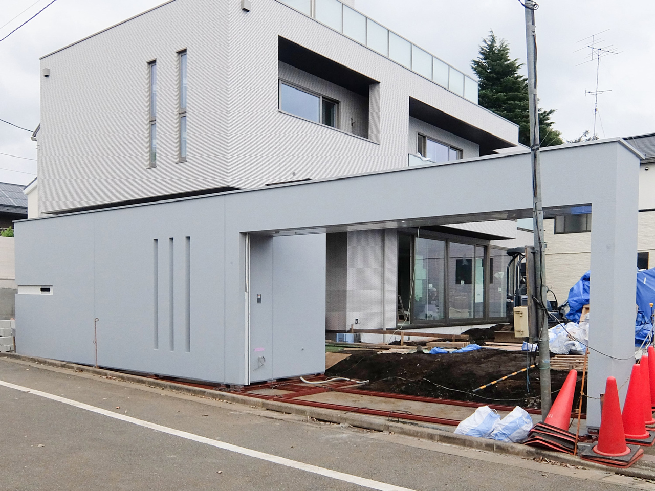 FIT GATE + FIT HIGH-WALL(下地納品)