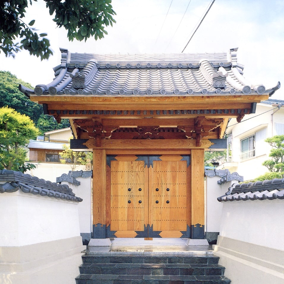 社寺などの数寄屋門